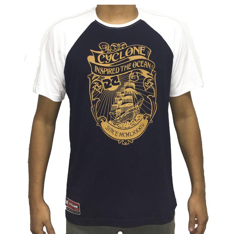 Camiseta Raglan Ocean