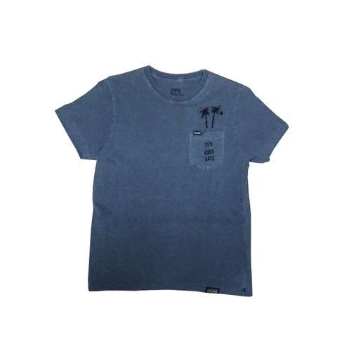 Camisa Infantil Diferenciada Tinturada Bolsinho Califórnia