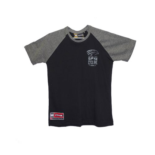 Camisa Infantil Diferenciada Raglan Twist