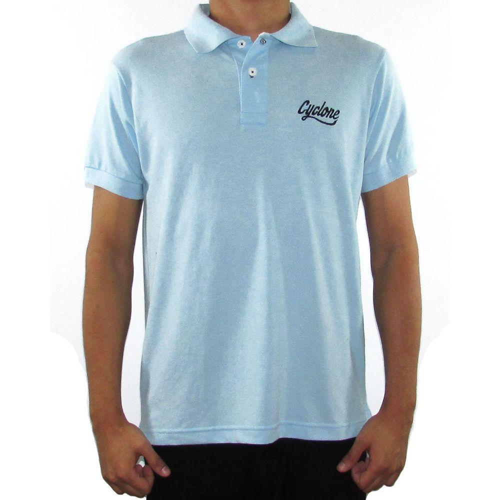 Camisa Polo em Piquet Bordado -Cyclone - cyclone e48a8c85dfd8d