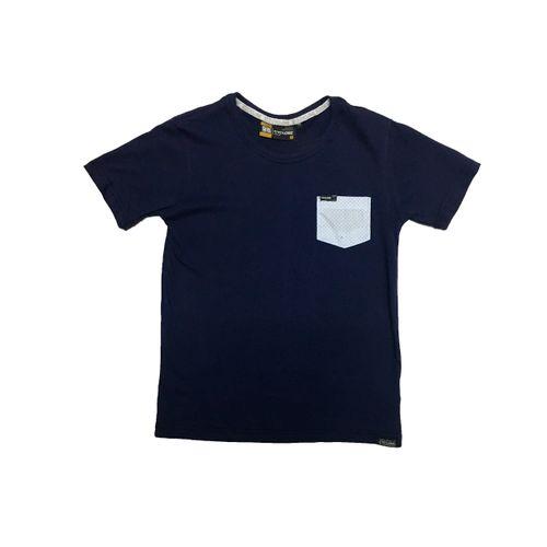 Camisa Diferenciada Pocket Pois - Infantil