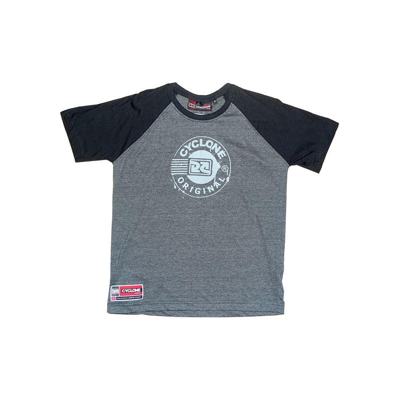 Camisa Infantil Diferenciada Raglan Botton