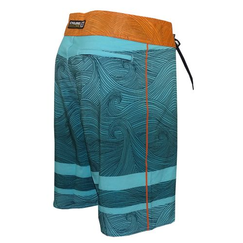 Stretch Waves Azul Costas