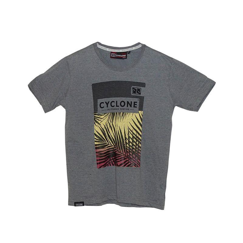 Camisa Infantil Tropical Cinza