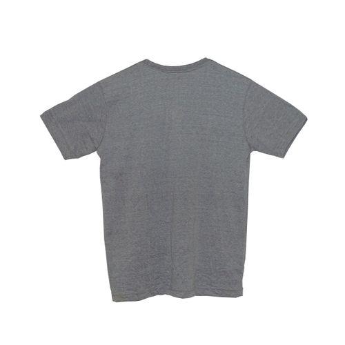 Camisa Infantil Tropical Cinza Costas