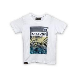 Camisa Infantil Tropical Branca