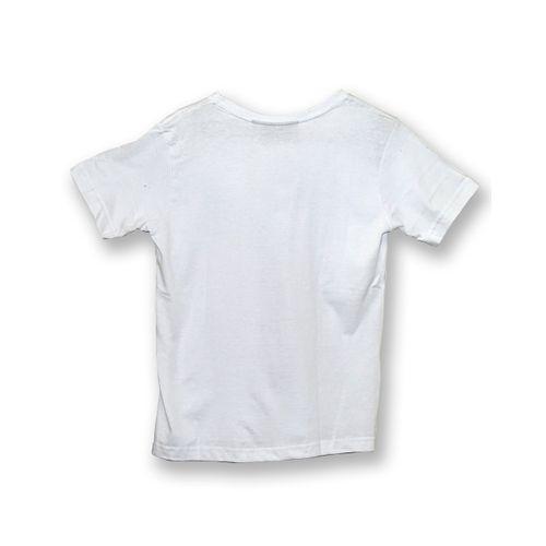 Camisa Infantil Tropical Branca Costas