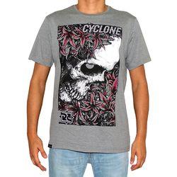 Camisa Skull Garden Cinza