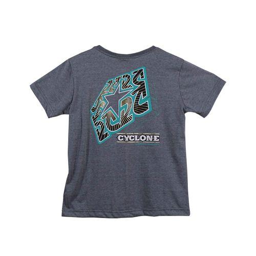 Camisa Infantil Tridimensional Metal