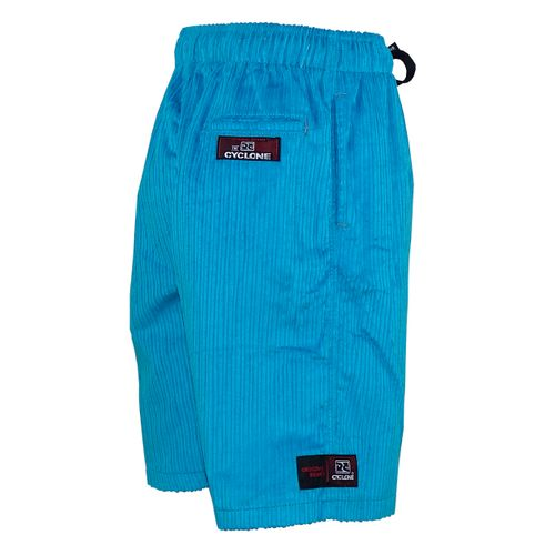 Costas Bermuda Veludo Relax Elevation Azul