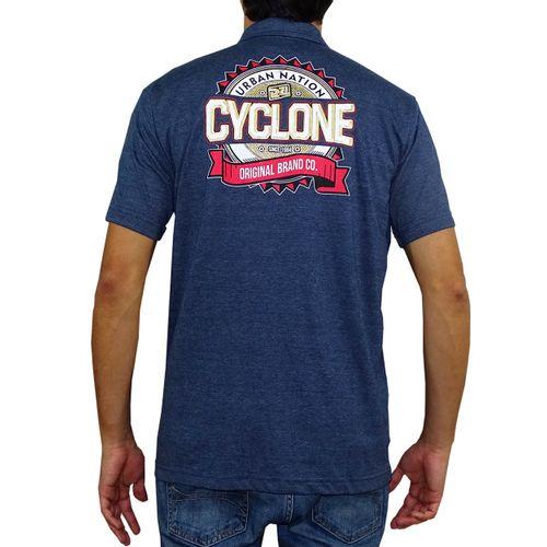 Costas Camisa Pólo Gear Metal Azul