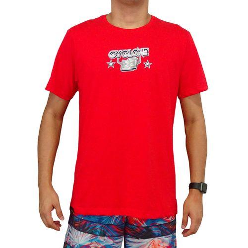 Camisa Rainbow Metal Vermelha