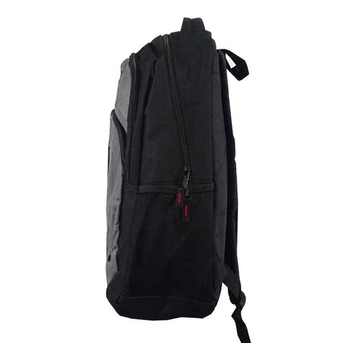 Lateral Mochila Executiva London Cinza