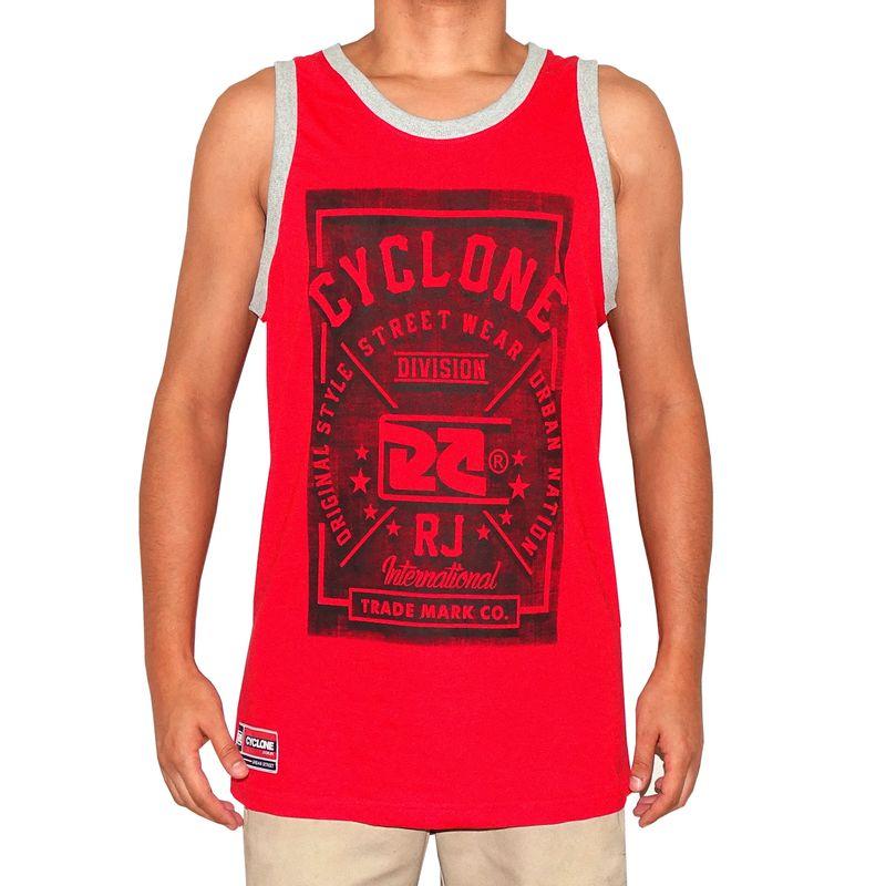 Regata Basket Street Wear Vermelha
