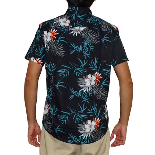 Costas Camisa Tecido Tropical