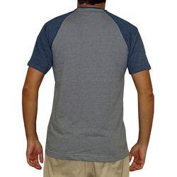Camisa Raglan Art Design Azul