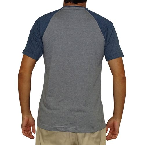 Costas Camisa Raglan Art Design Azul