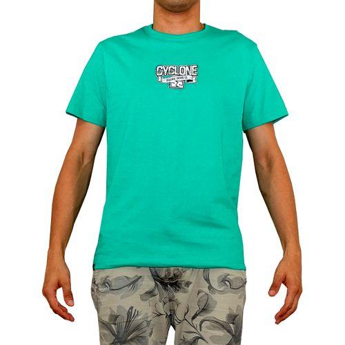 Frente Camisa Gear Metal Verde