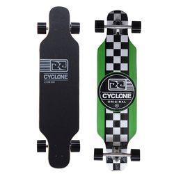 Skate Long Chess Verde