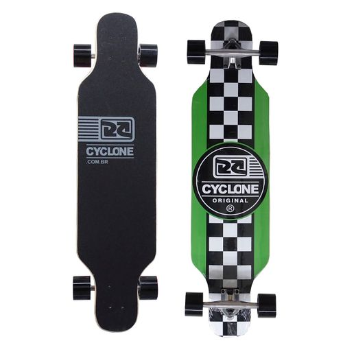 Skate Long Chess Verde