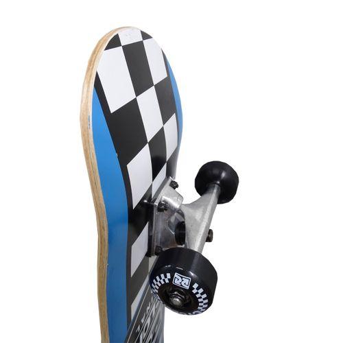 Detalhes Skate Street Chess Azul
