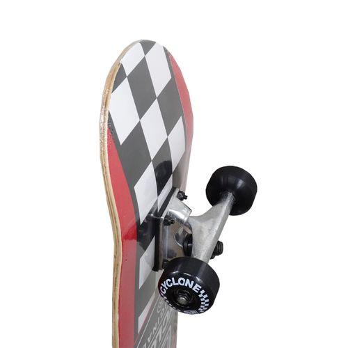 Detalhes Skate Street Chess Vermelho