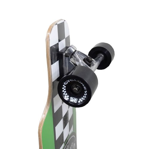 Detalhes Skate Long Chess Vermelho