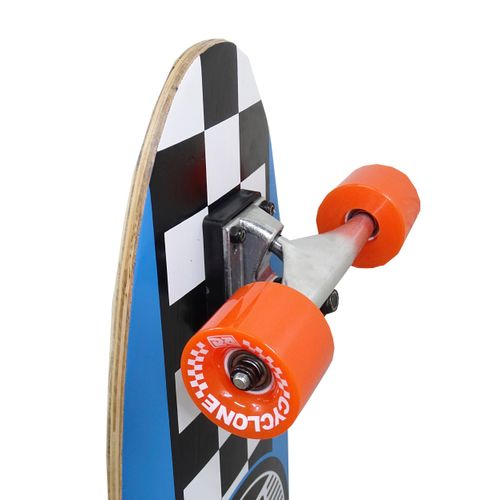 Detalhes Skate Semi Long Chess Azul