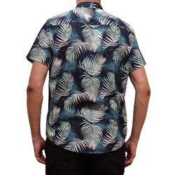 Camisa Tecido Folhagem