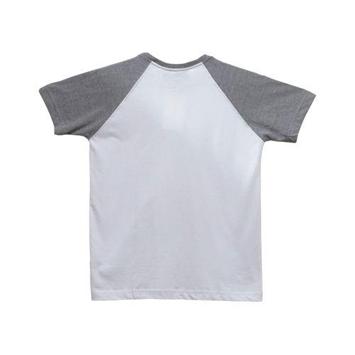 Costas Camisa Infantil Raglan Brigade