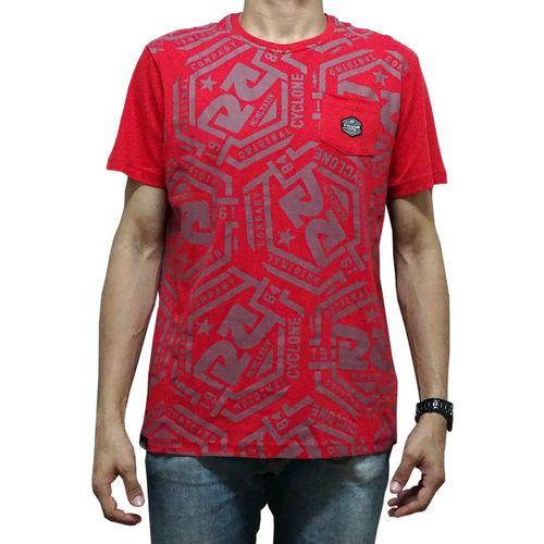 Camisa Hexágono Vermelha
