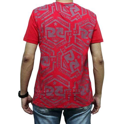 Costas Camisa Hexágono Vermelha