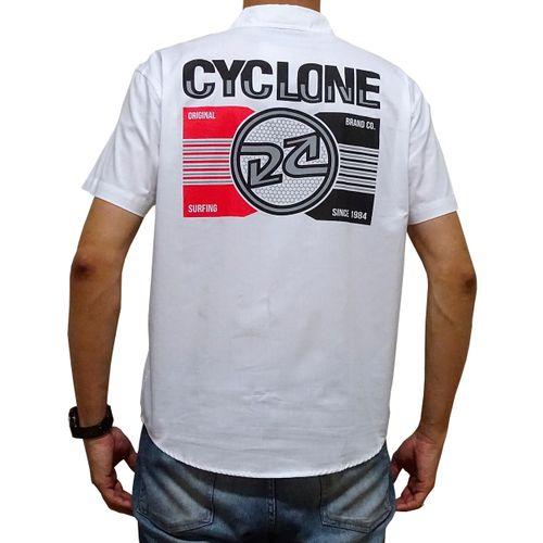 Costas Camisa Tecido Telegrafic