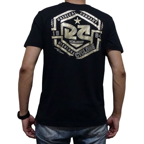 Costas Camisa Chrobot Metal Preta