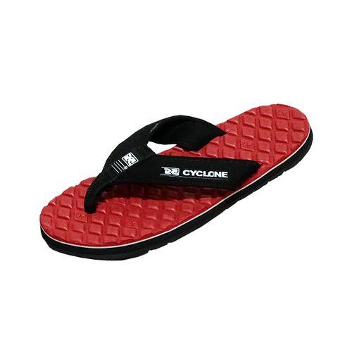 Sandália Deck Losango Vermelha