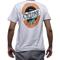 Costas Camisa Antique Label Metal Branca