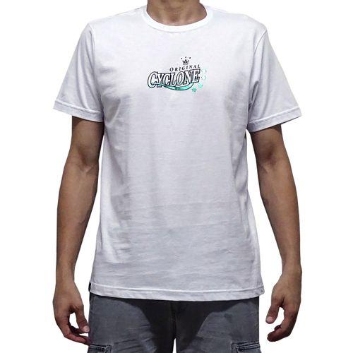 Camisa Antique Label Metal Branca