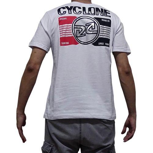 Costas Camisa Telegrafic Metal Branca