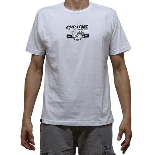 Camisa Telegrafic Metal Branca