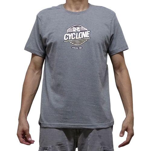 Camisa Brave Metal Cinza