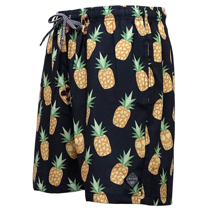Short Curto Stretch Pineapple