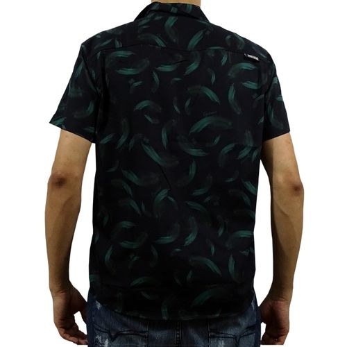 Costas Camisa Tecido Grumari