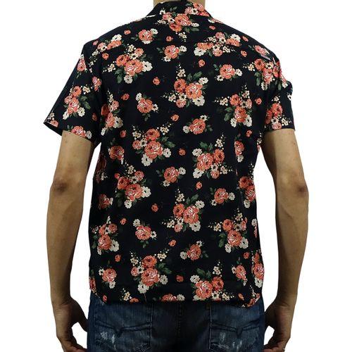 Costas Camisa Tecido Arpoador