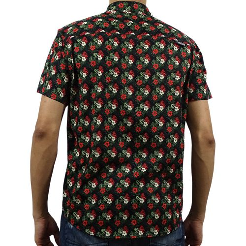 Costas Camisa Tecido Hawaii