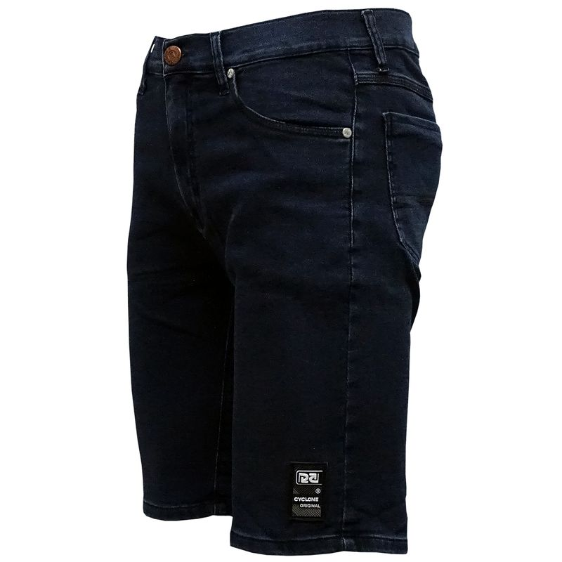 Bermuda Jeans Moletom Waves