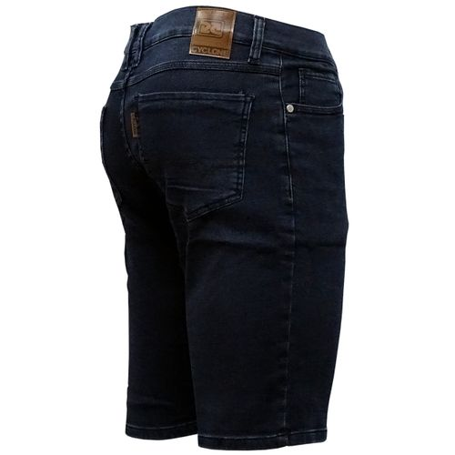 Costas Bermuda Jeans Moletom Waves