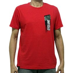 Costas Camisa Sign Metal Vermelha