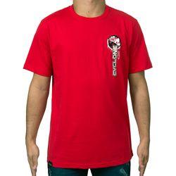 Costas Camisa Nose Metal Vermelha
