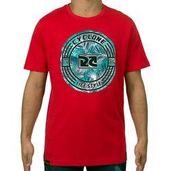 Camisa Foliage Vermelha