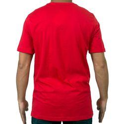 Costas Camisa Foliage Vermelha